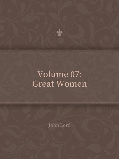 Volume 07Great Women