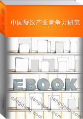 中国餐饮产业竞争力研究