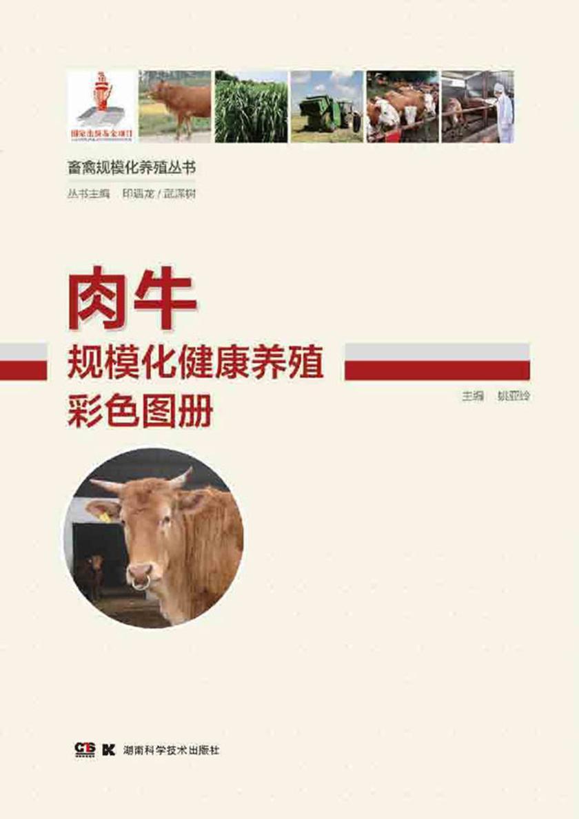 畜禽规模化养殖丛书——肉牛规模化健康养殖彩色图册