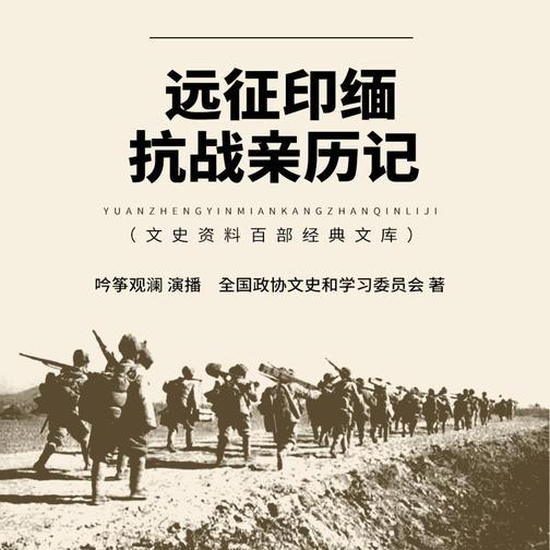 远征印缅抗战亲历记 抗战将领回忆录