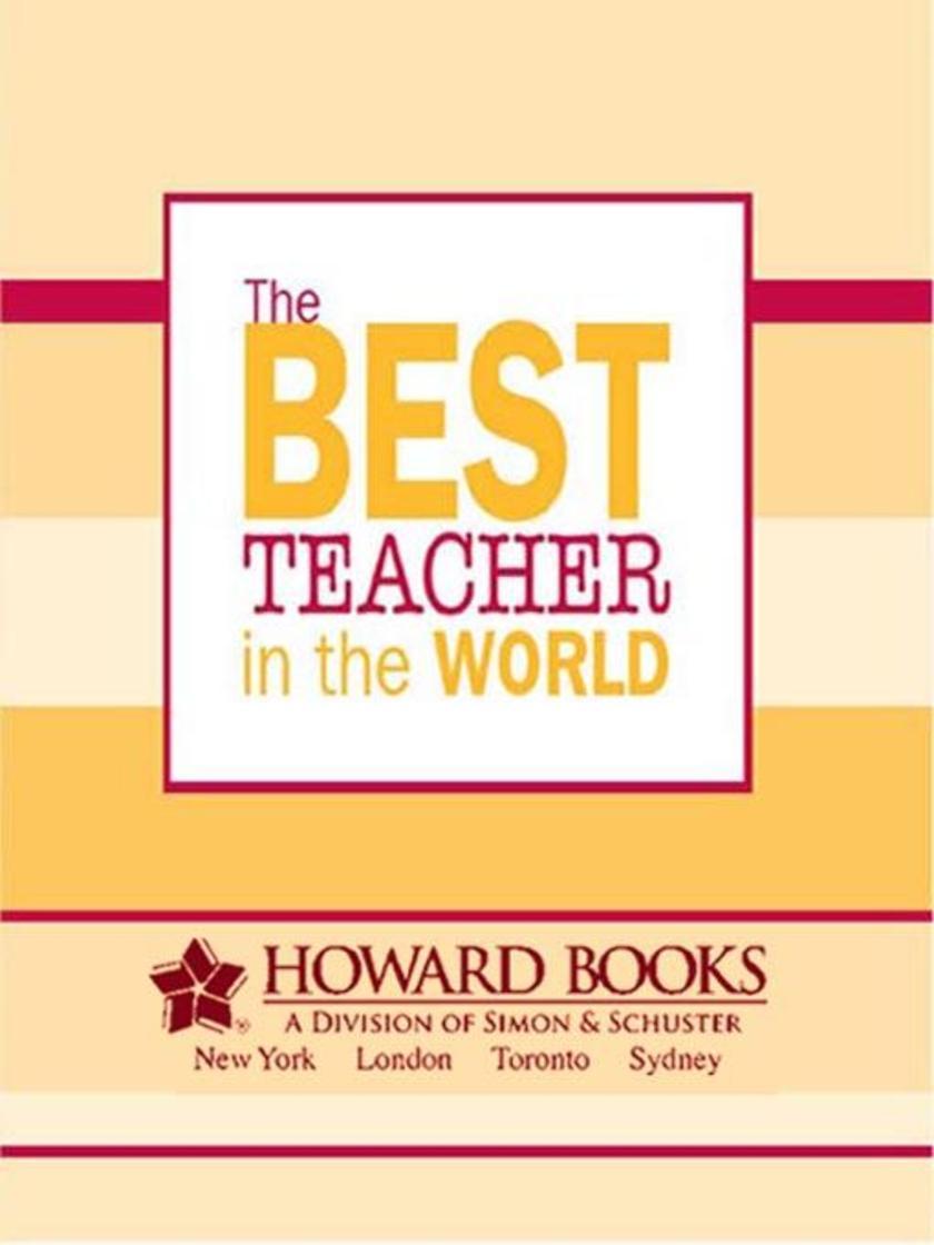 The Best Teacher in the World