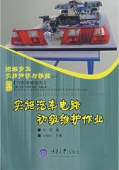 实施汽车电路初级维护作业