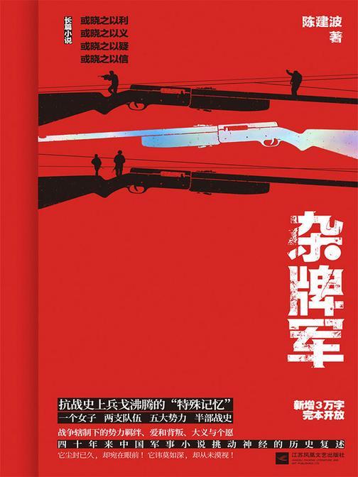 杂牌军(正面描写抗战时期非正规军的军事小说。一个弱女子,游离于国共日伪之间,坎坷沉浮)