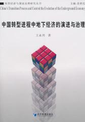 中国转型进程中地下经济的演进与治理(仅适用PC阅读)