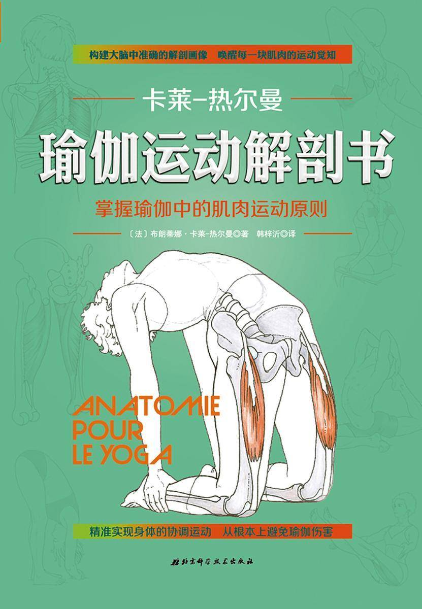 """瑜伽运动解剖书(运动解剖学概念创立者为瑜伽运动者量身打造,""""运动与解剖学""""实验室30年研究成果,构建大脑中准确的解剖画像,唤醒每一块肌肉的运动觉知,从根本上避免"""