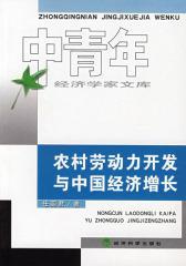 农村劳动力开发与中国经济增长(仅适用PC阅读)