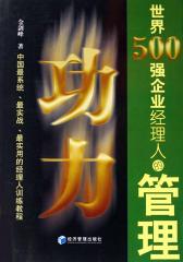 世界500强企业经理人的管理功力(仅适用PC阅读)