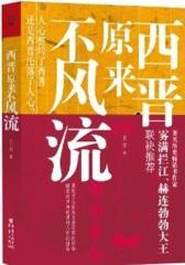 """西晋原来不风流(""""天涯元老""""雾满拦江、畅销书作家赫连勃勃大王联袂推荐)"""