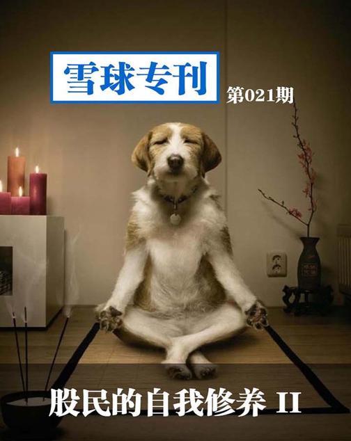 雪球专刊021——股民的自我修养2(电子杂志)