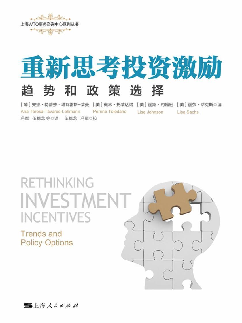 重新思考投资激励:趋势和政策选择