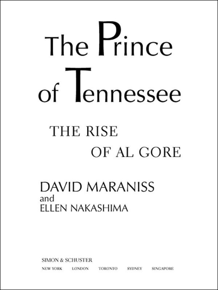 The Prince Of Tennessee