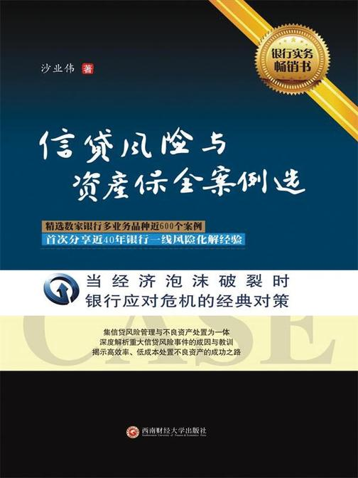 信贷风险与资产案例案例选