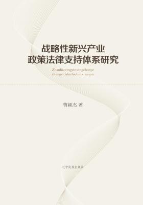 战略性新兴产业政策法律支持体系研究