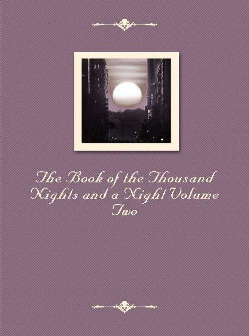 The Book of the Thousand Nights and a Night Volume Two