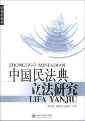 中国民法典立法研究