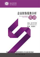 圣才学习网·企业财务报表分析实训(仅适用PC阅读)