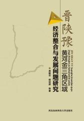 晋陕豫黄河金三角区域经济整合与发展问题研究(仅适用PC阅读)