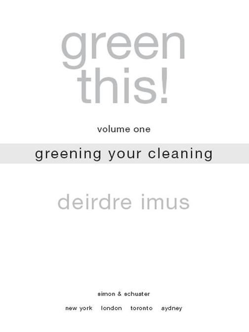Green This! Volume 1