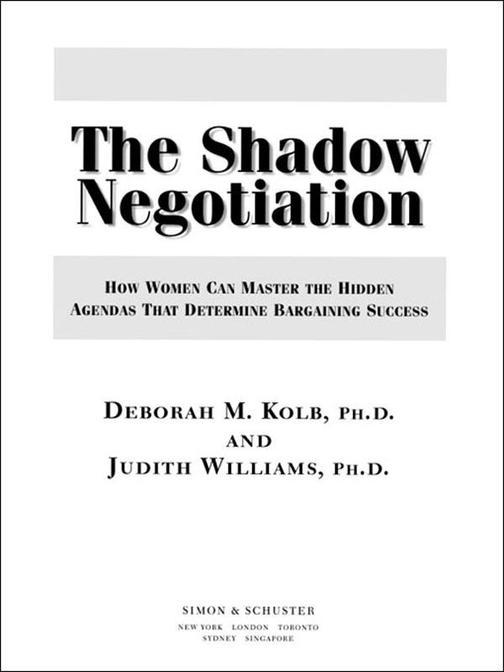 The Shadow Negotiation