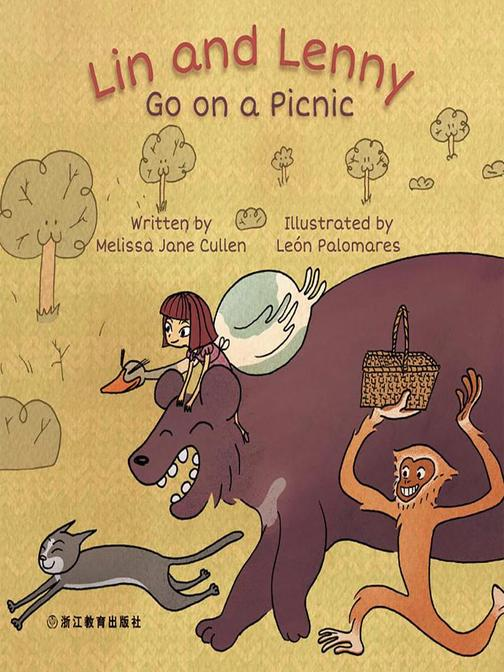 Lin and Lenny Go on a Picnic Lin和Lenny去野餐