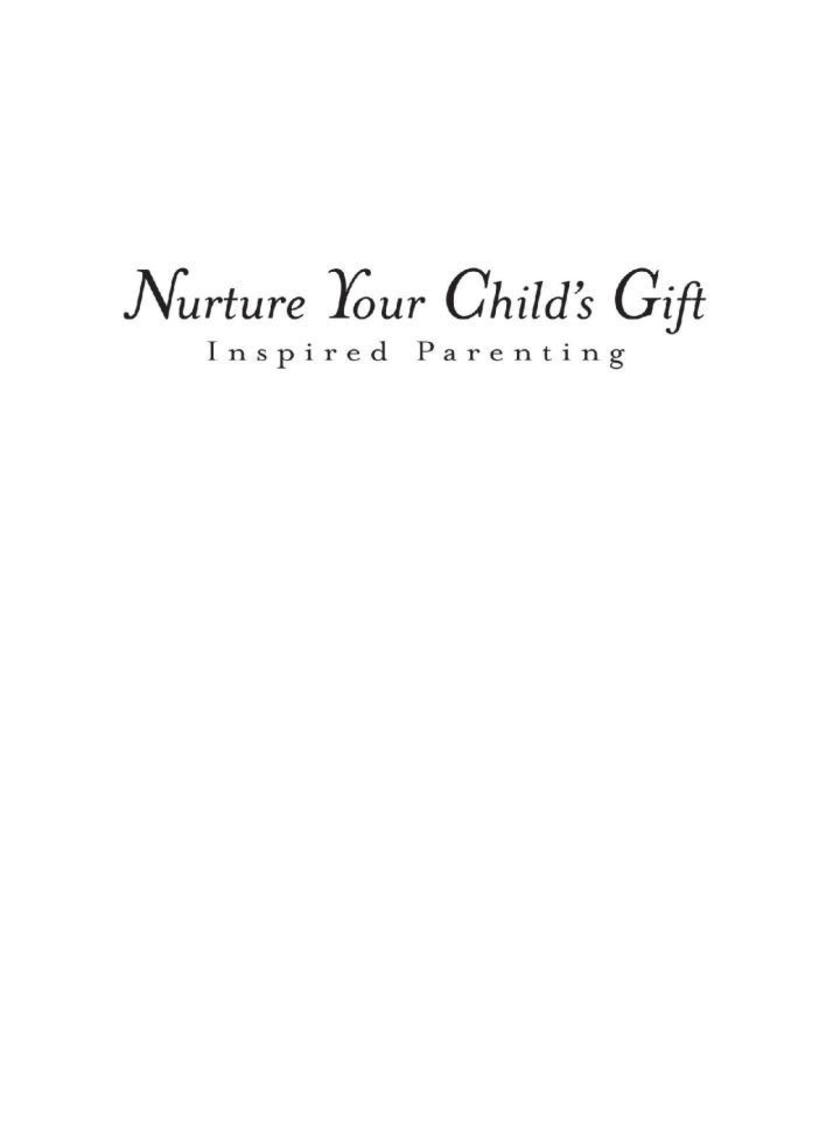 Nurture Your Child's Gift