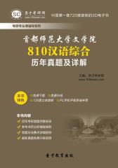 首都师范大学文学院810汉语综合历年真题及详解