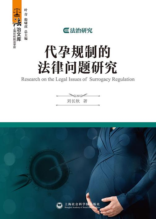 代孕规制的法律问题研究