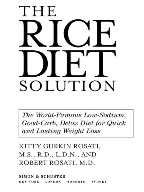 The Rice Diet Solution