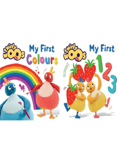 My First 123 & My First Colours (Twirlywoos)