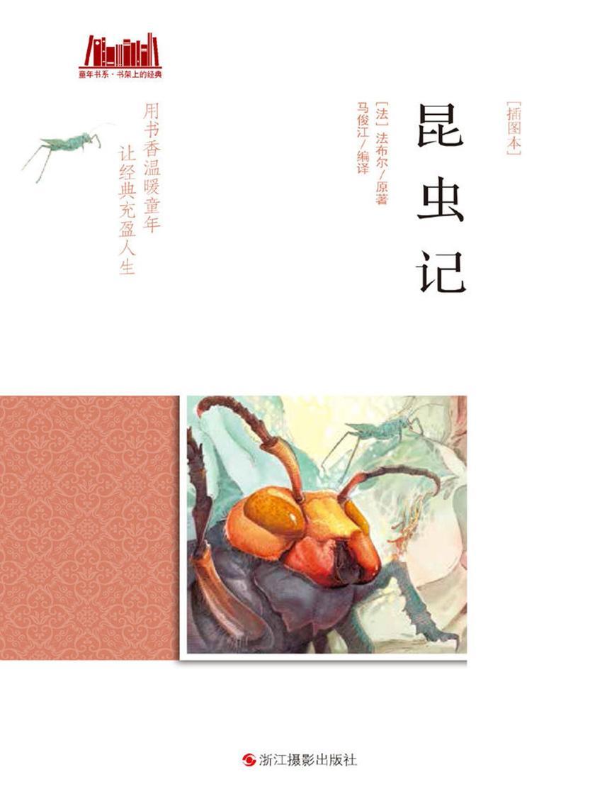 昆虫记:插图本(童年书系·书架上的经典)