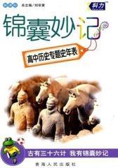 锦囊妙记.第3辑.高中历史编年史年表