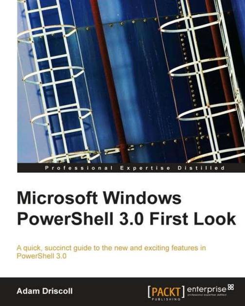 Microsoft Windows PowerShell 3.0 Firstlook