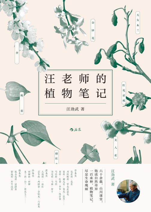 汪老师的植物笔记(六十余载,山川课堂,饱读自然奇异;一百来种,植物笔记,尽显生命瑰丽。)