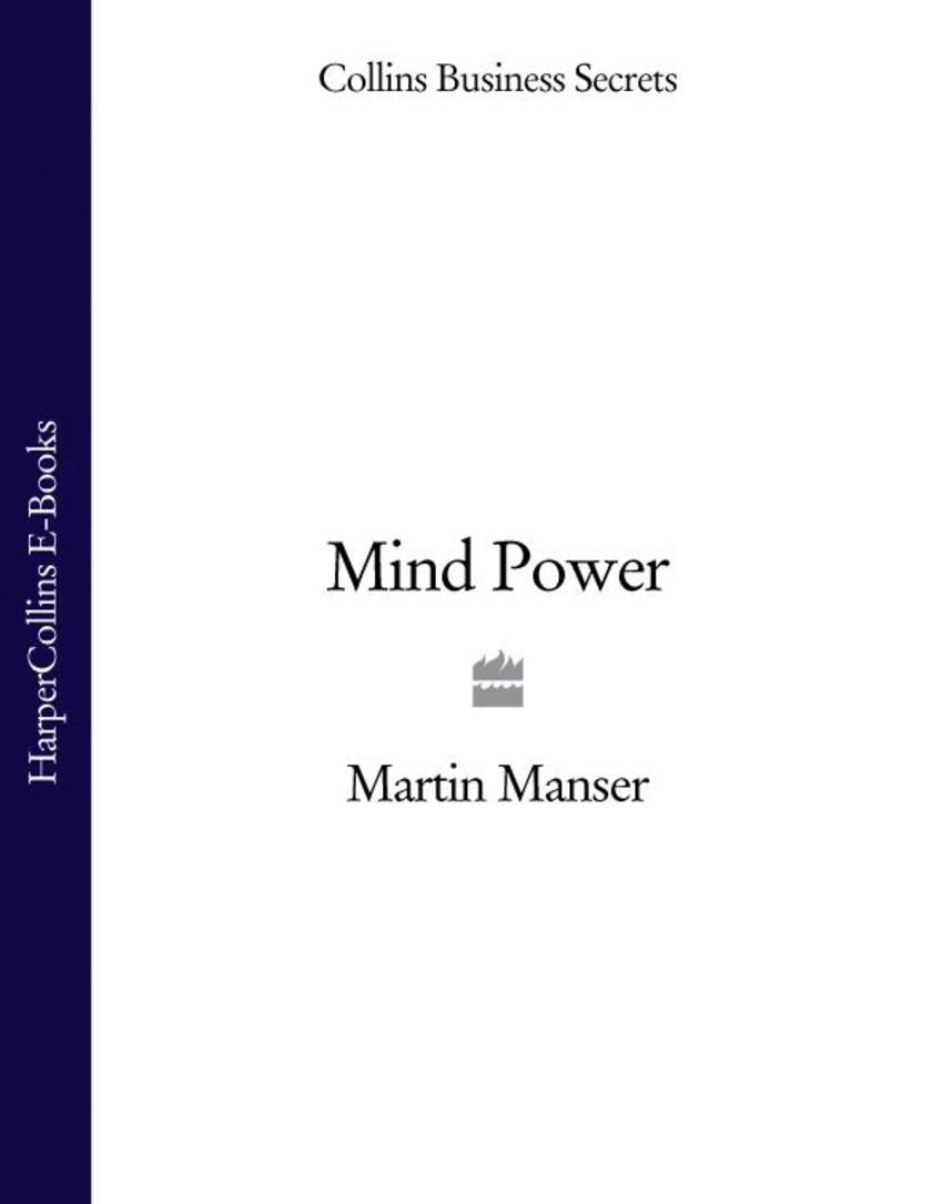 Mindpower (Collins Business Secrets)
