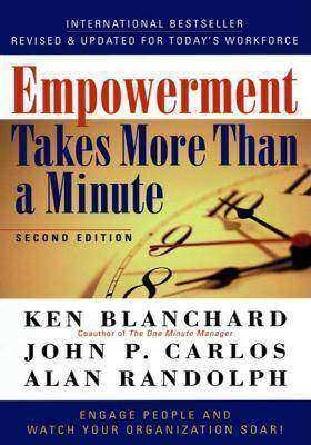 Empowerment Takes More Than a Minute一分钟内拿到自主权