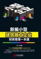 新编小型建筑施工企业财务管理一本通(试读本)(仅适用PC阅读)