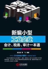 新编小型工业企业会计、税务、审计一本通(试读本)(仅适用PC阅读)
