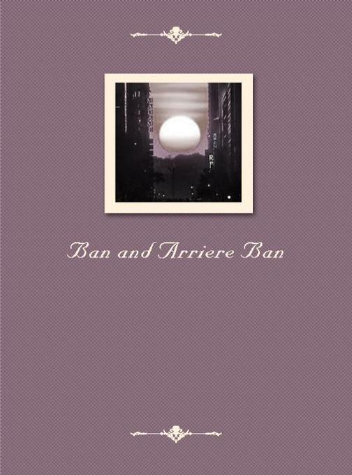 Ban and Arriere Ban