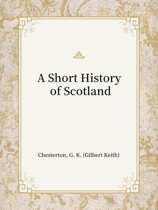 A Short History of Scotland