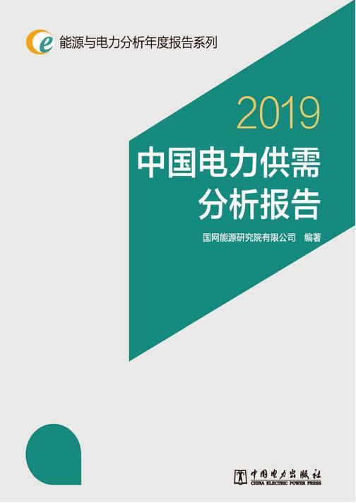 能源与电力分析年度报告系列2019 中国电力供需分析报告