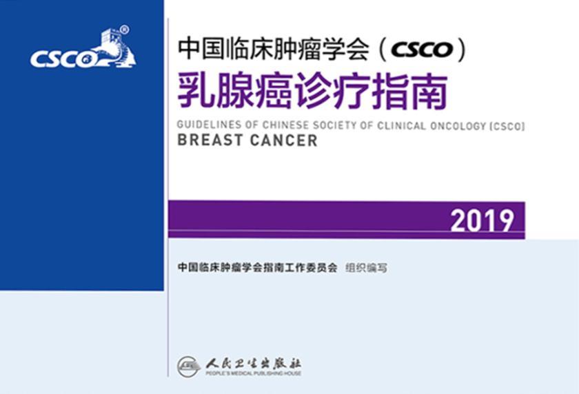 中国临床肿瘤学会(CSCO)乳腺癌诊疗指南2019