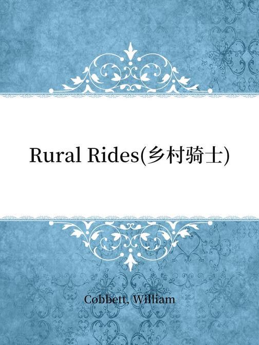 Rural Rides(乡村骑士)
