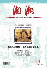 湘潮 月刊 2011年11期(电子杂志)(仅适用PC阅读)