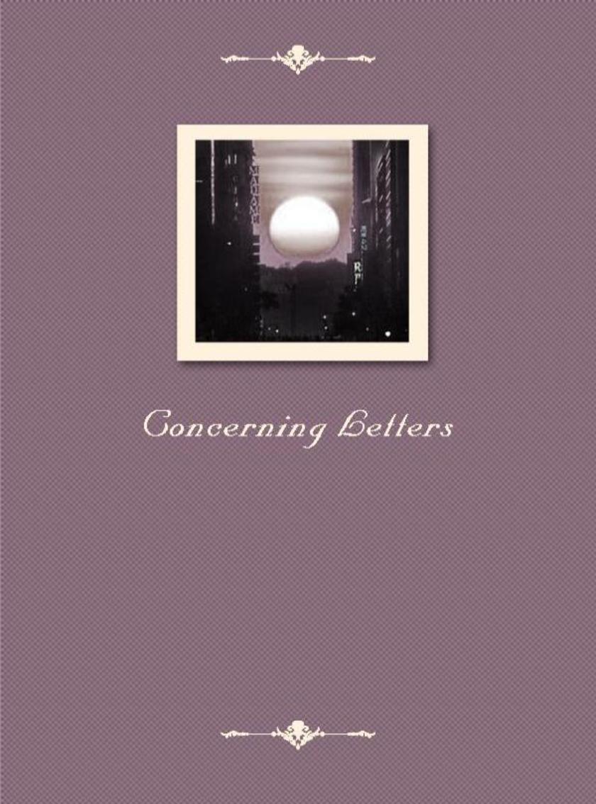 Concerning Letters