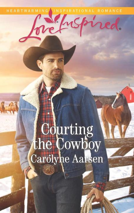 Courting The Cowboy (Mills & Boon Love Inspired) (Cowboys of Cedar Ridge, Book 1