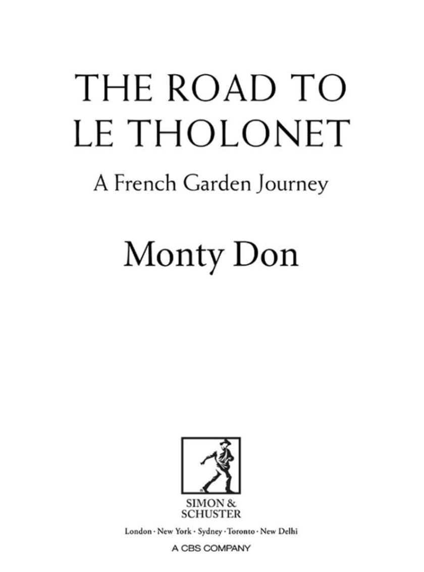 The Road to Le Tholonet