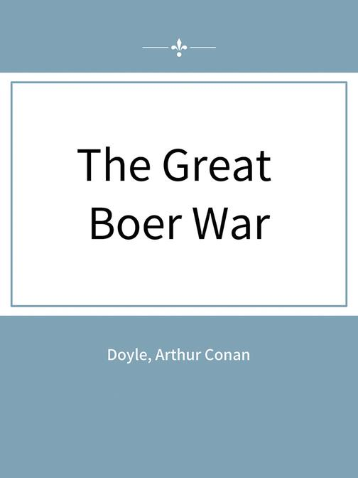 The Great Boer War