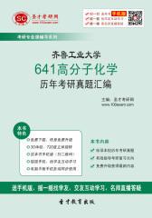 齐鲁工业大学641高分子化学历年考研真题汇编