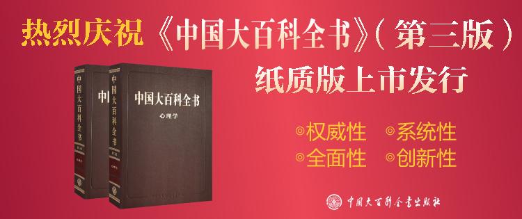大百科-中国大百科全书 第三版(心理学)