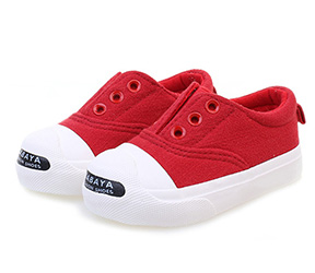 芭芭鸭童鞋儿童帆布鞋